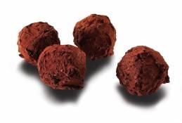 truffes à la crème fraîche