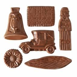 variétés moulages chocolat