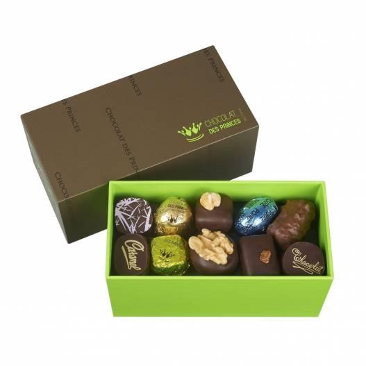 chocolats assortis en ballotin