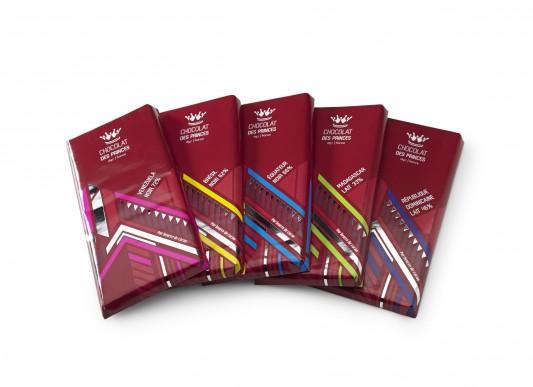 tablettes chocolat d'origine