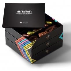 Vous aimerez aussi : chocolats assortis boite 3 plateaux avec message