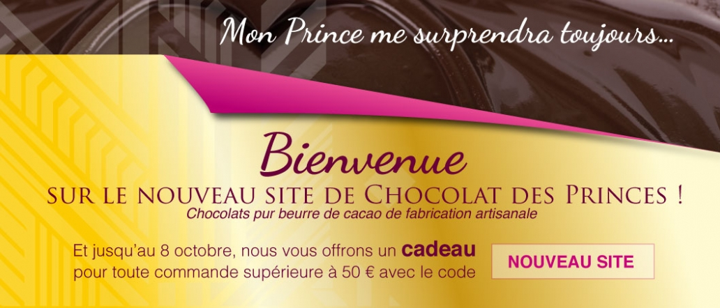 nouveau site chocolat